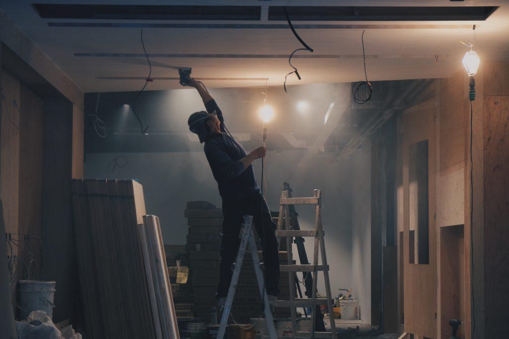Travaux de rénovation - immobilier