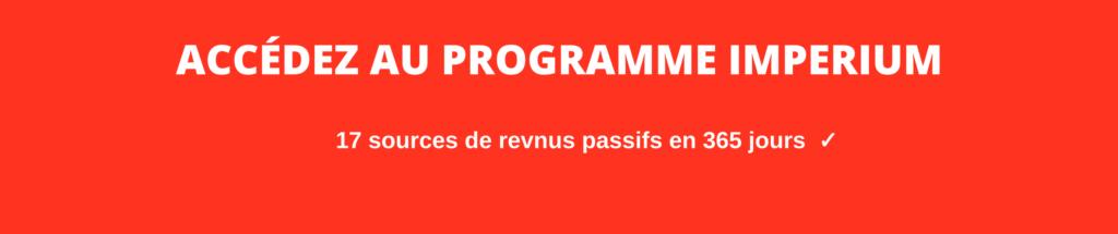 Pierre Ollier - Programme Imperium