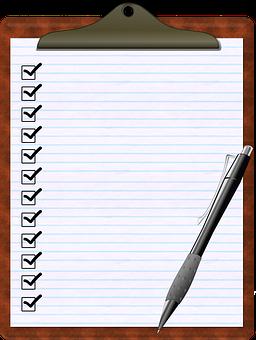 Liste des clauses obligatoires
